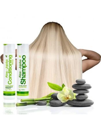 odżywka do włosów aloe-jojoba