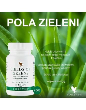 Pola Zieleni Forever Fields of Greens - zielony jeczmien lucerna piepr