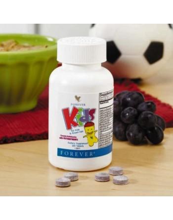Forever Kids – tabletki multiwitaminowe z fitoskładnikami - 120 szt.