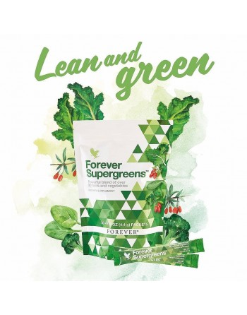 Forever Supergreens - unikalny mix superfoods warzywa i owoce do picia
