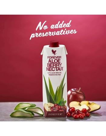 Aloes do picia z żurawiną Forever Aloe Berry Nectar 1 litr