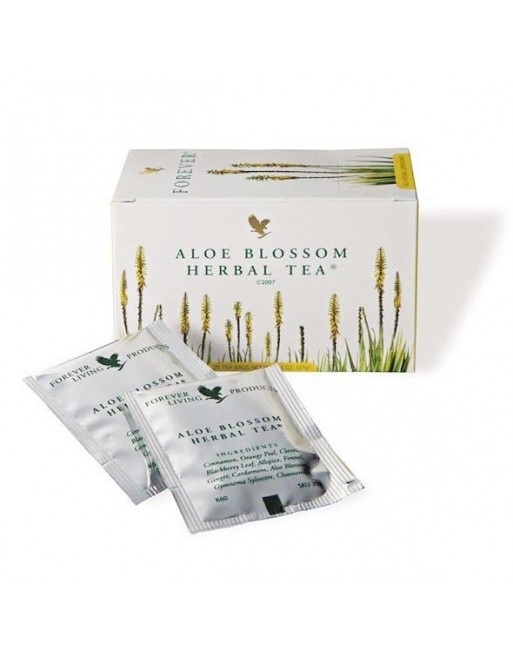 Forever Aloe Blossom Herbal Tea Herbatka ziołowa z kwiatem aloesu