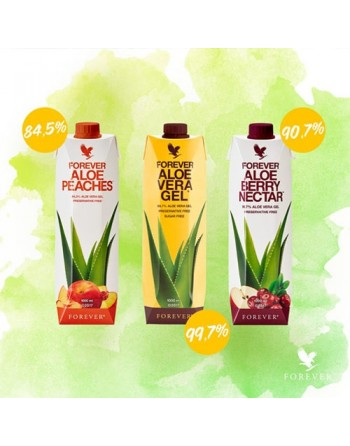 Forever Aloes brzoskwiniowy