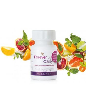 Daily Forever - optymalne połączenie witamin i minerałów oraz AOS