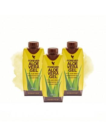 Forever Aloe Vera Gel Mini 330ml x 3