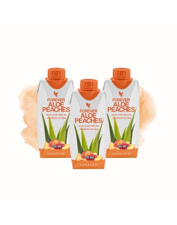 Forever Aloe Peaches mini - 330ml aloes dla dzieci