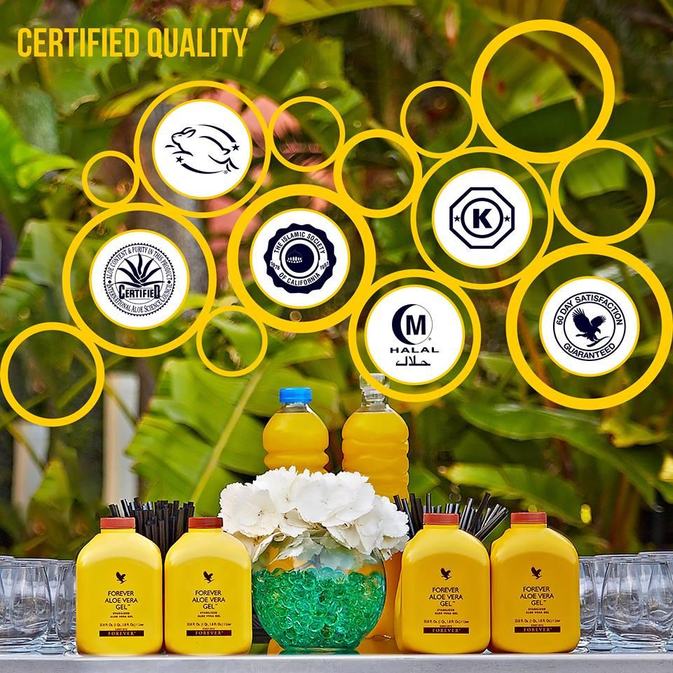 jakość produktów Forever